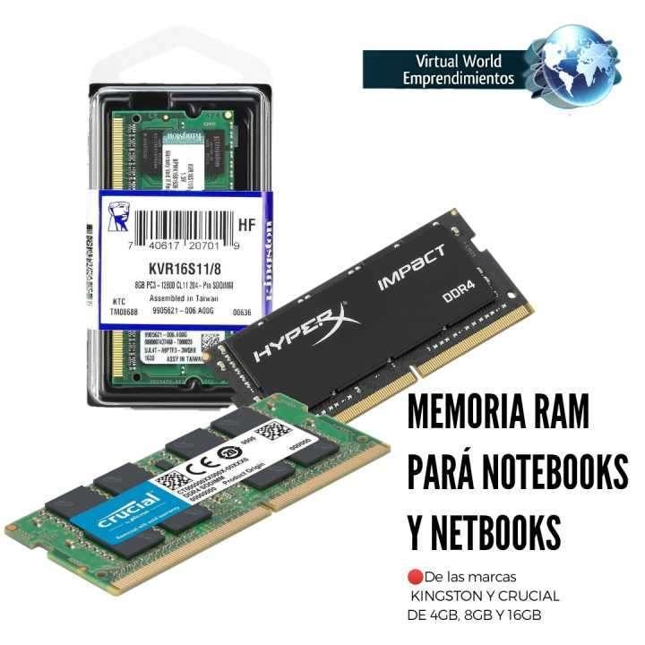 Memoria ram para notebooks y netbooks - 0